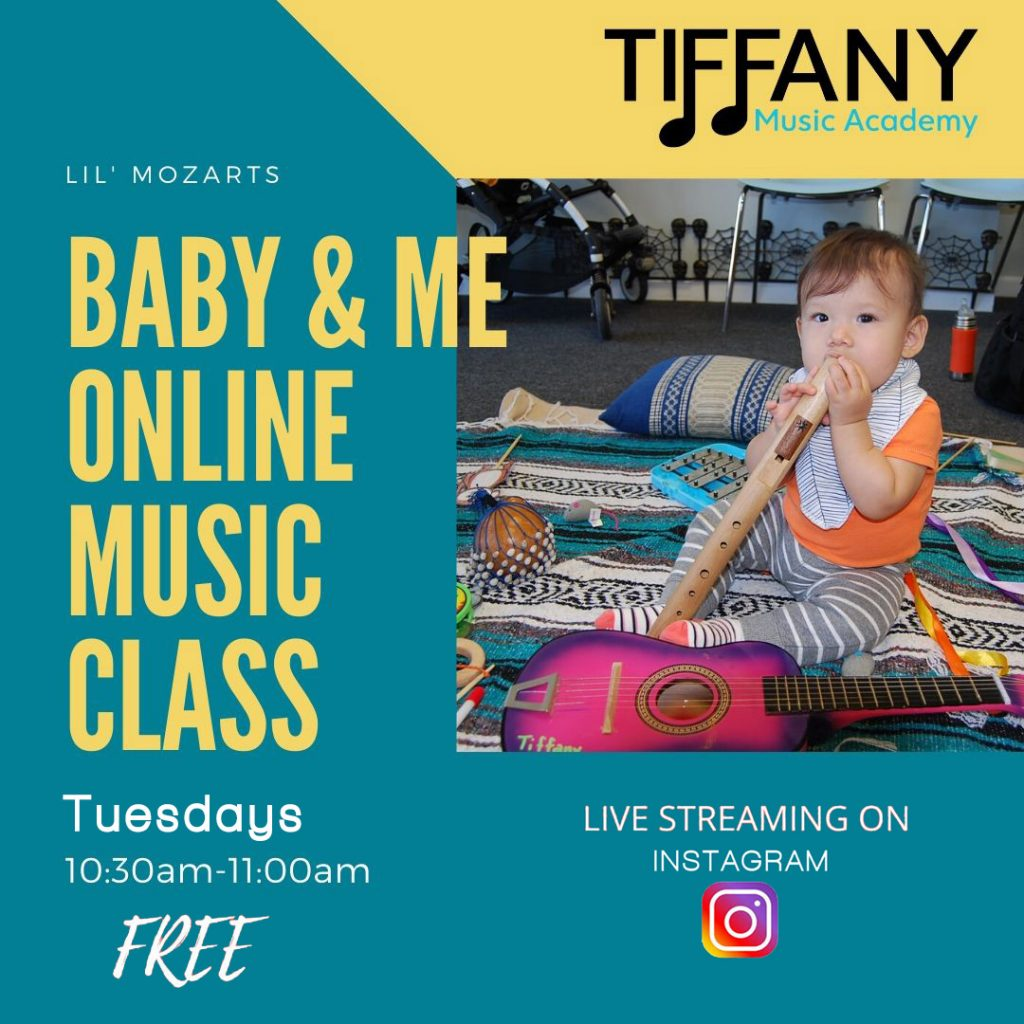 Baby & Me Online Music Class