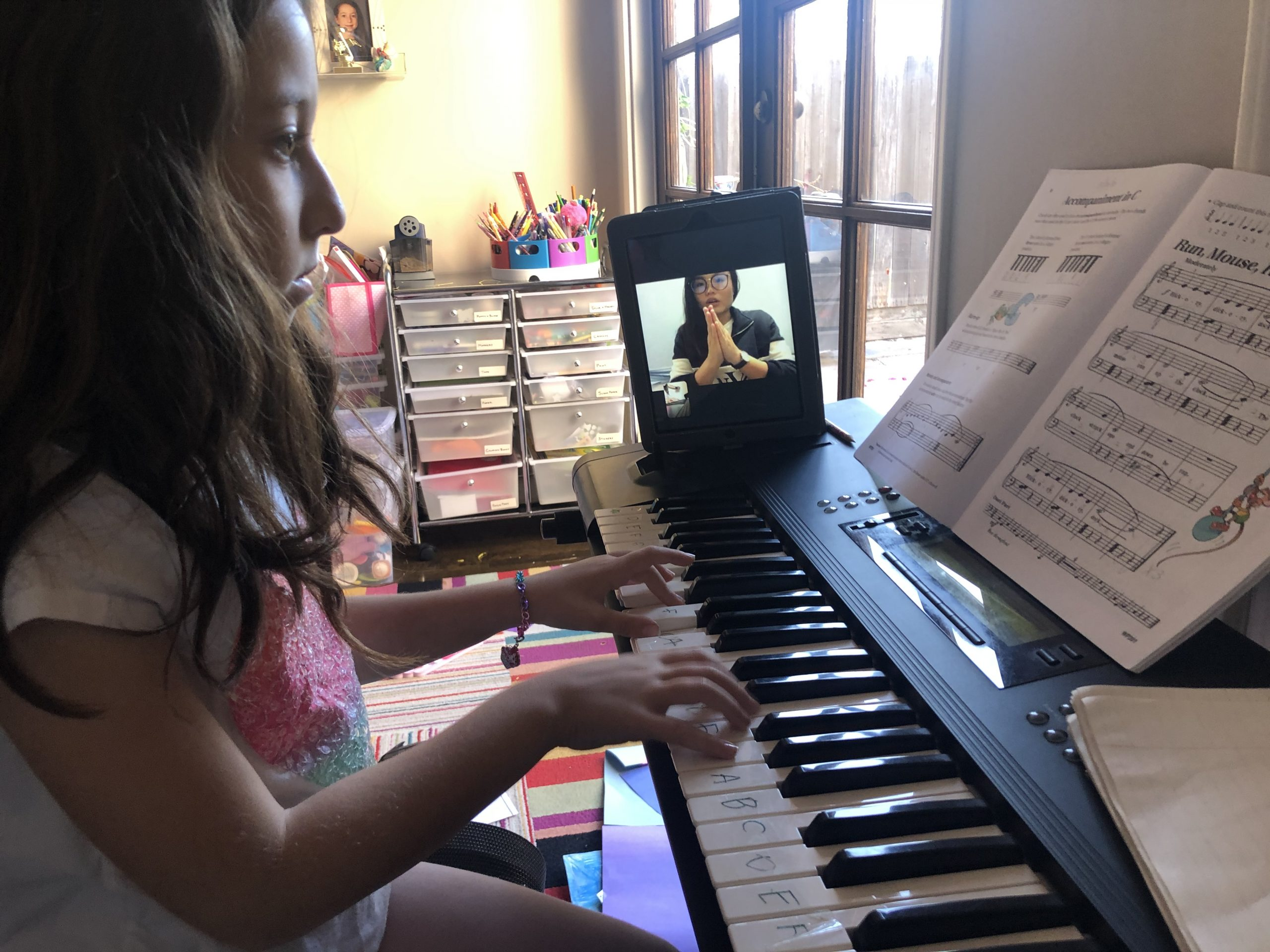 Private music lessons online in Los Angeles